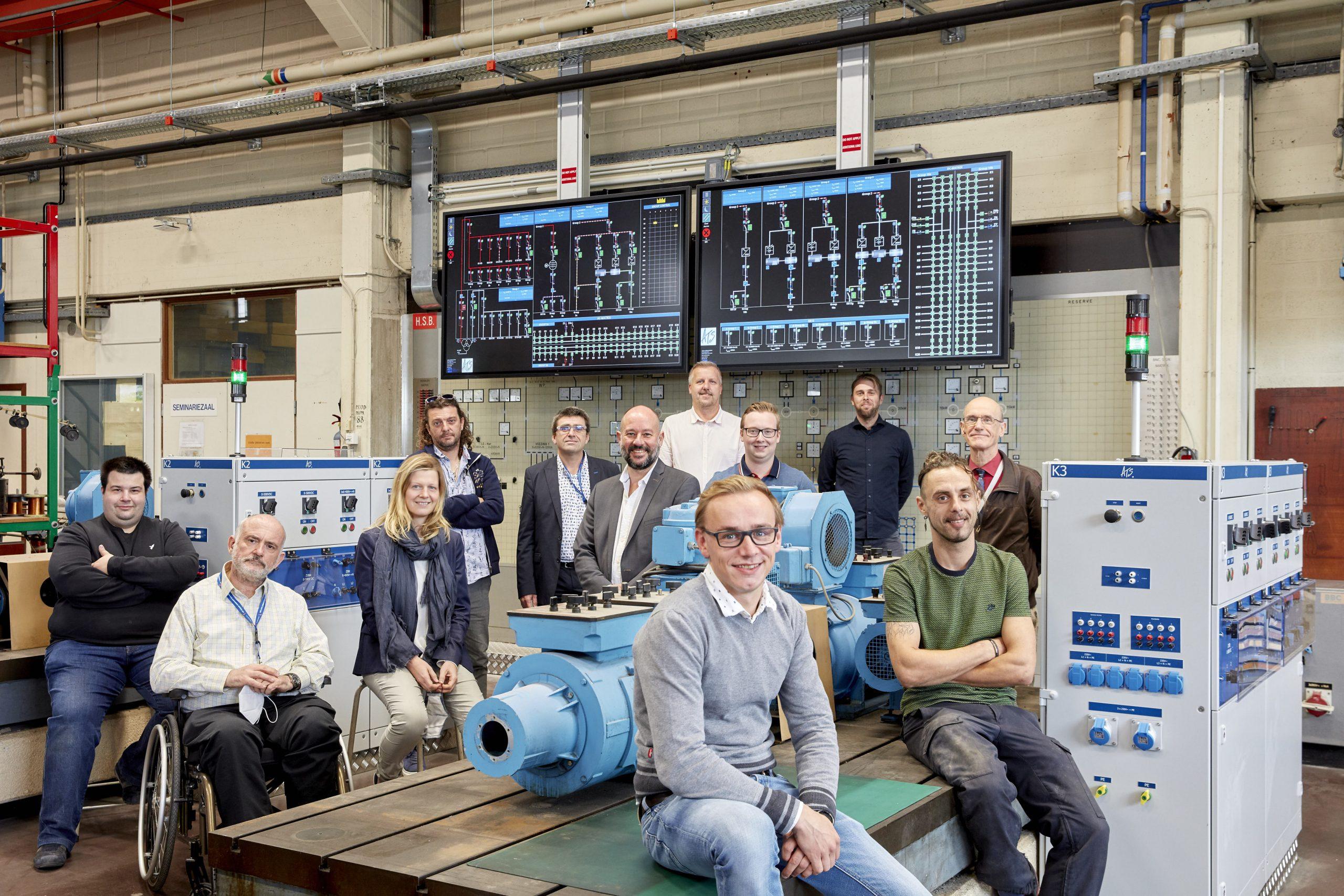 ATS Renovatie VUB Labo ETEC