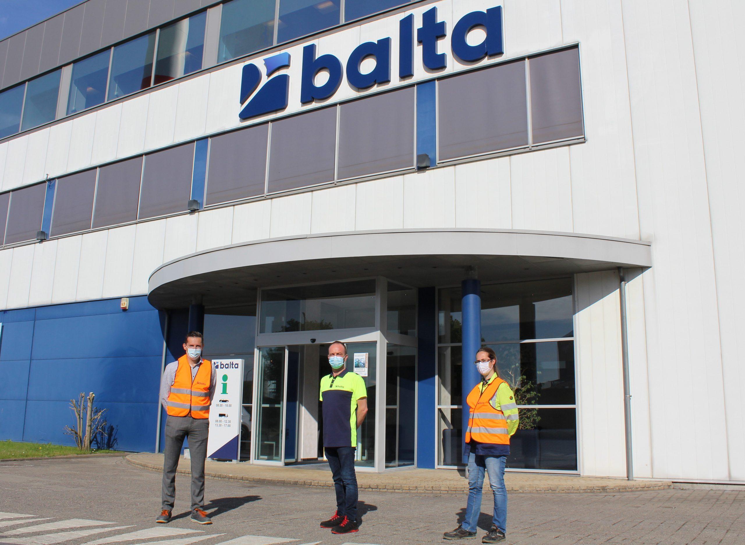 Case Balta gebouw